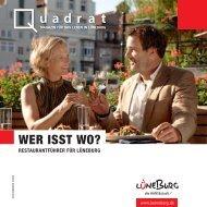 Quadrat | Wer isst wo? – Restaurantführer für Lüneburg