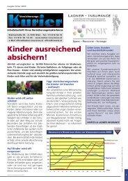 Versicherungskurier 2003, Ausgabe Nr. 04 - INVESTA