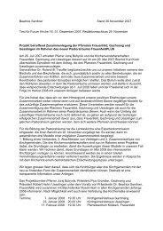 Beatrice Sendner Stand 30.November 2007 Text für Forum Kirche ...