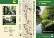 Naturlehrpfad Senden - Gemeinde Senden