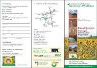 Nordrhein-Westfalen - Regionale Bioenergieberatung