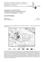 4110 • Senden - Geologischer Dienst NRW