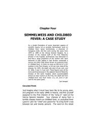 SEMMELWEIS AND CHILDBED FEVER: A CASE STUDY