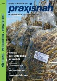 züchtung · produktion · verwertung ausgabe 4 - Praxisnah