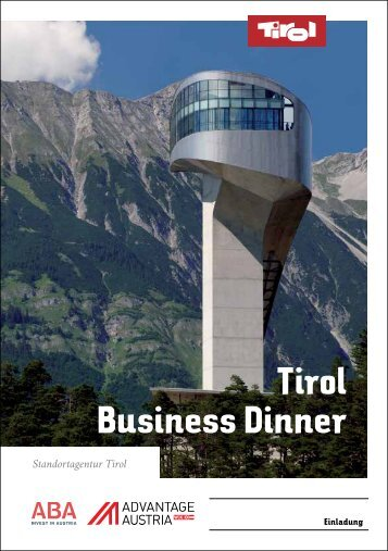 Tirol Business Dinner - Advantage Austria
