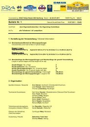 Bulletin Nr. 1 - Rallye Baden-Württemberg