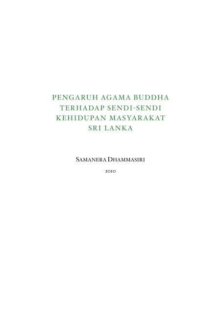 Pengaruh agama Buddha Terhadap sendi-sendi ... - DhammaCitta