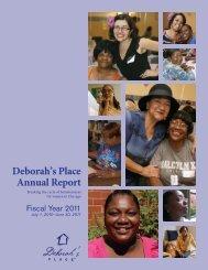 FY11 Annual Report - Deborah's Place