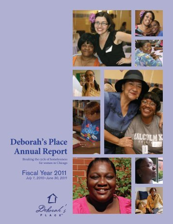 FY11 Annual Report - Deborah's Place