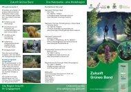 Download > Flyer_Zukunft_Gruenes_Band.pdf - Grünes Band