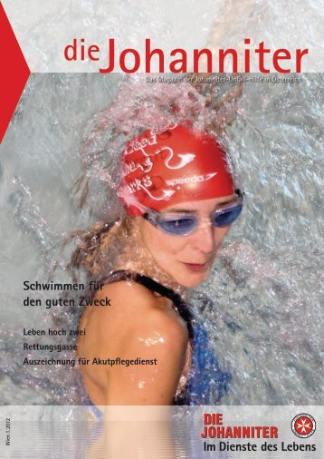 Schwimmen für den guten Zweck - Die Johanniter