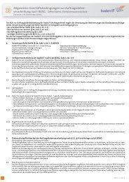 AGB Auftragsdatenverarbeitung (pdf) - badenIT