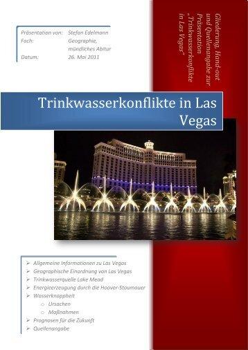 Trinkwasserkonflikte in Las Vegas (mündliches ... - Stefan Edelmann