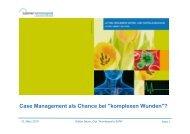 Case Management als Chance bei