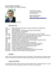 Prof. Dr. Stefan C. W. Meuer