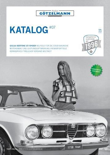 Stefan Götzelmann Katalog Nr.6 – 02/2011