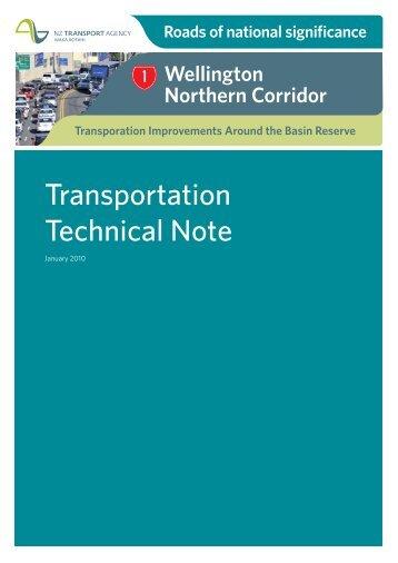 Appendix A - NZ Transport Agency