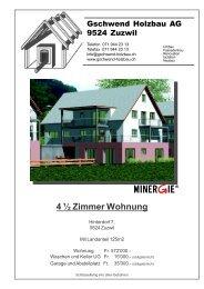 4 ½ Zimmer Wohnung - Newhome.ch