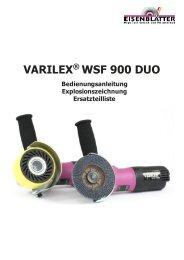 VARILEX® WSF 900 DUO Bedienungsanleitung - Eisenblätter GmbH