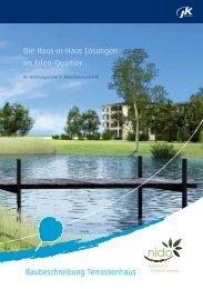 Die Haus-in-Haus Lösungen im Erlen-Quartier ... - JK Wohnbau