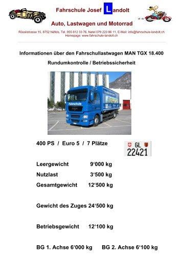 Rundumkontrolle beim Lastwagen - Auto-, Lastwagen- und ...