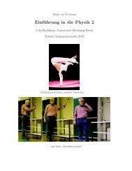 Vorlesungsskript Einführung in die Physik 2 - Didaktik der Physik