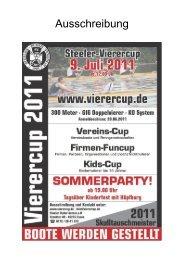 STEELER VEREINSCUP 9. Juli 2011 - Ruder-Gesellschaft Lauenburg