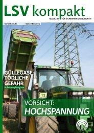 LSV kompakt September 2009 - Die Landwirtschaftliche ...