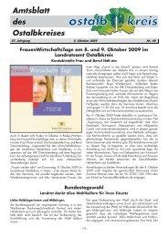 FrauenWirtschaftsTage am 8. und 9. Oktober 2009 im ... - Ostalbkreis