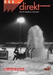 00 FCSdirekt 1/99 - FC Solothurn
