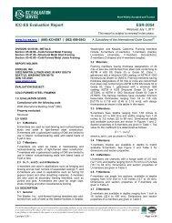 ESR-2054 - Steeler Inc. - ICC-ES