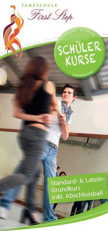 Flyer Schüler.indd - Tanzschule First Step