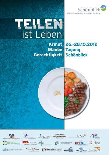 28.10.2012 Tagung Schönblick - Deutsches Institut für Ärztliche ...