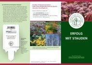 ERFOLG MIT STAUDEN - Bund deutscher Staudengärtner