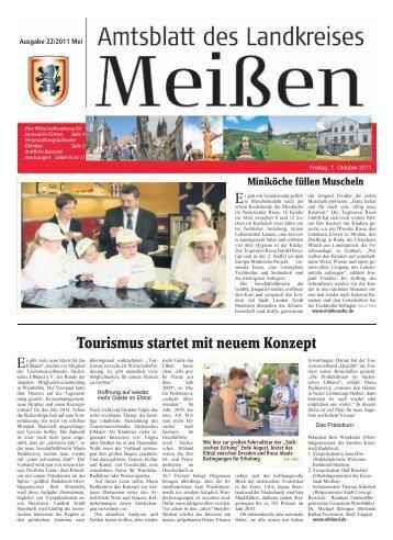 Tourismus startet mit neuem Konzept - Landkreis Meißen