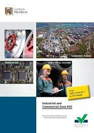 Industrial and Commercial Zone RIO - Wirtschaftsförderung Region ...