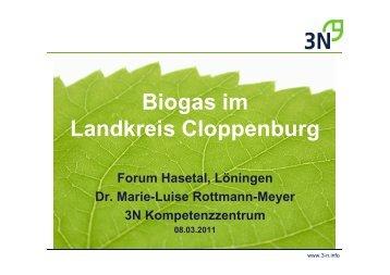 Biogas im Landkreis Cloppenburg - Stadt Löningen