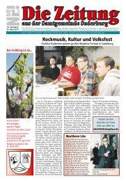 Rockmusik, Kultur und Volksfest - Suderburg - Online