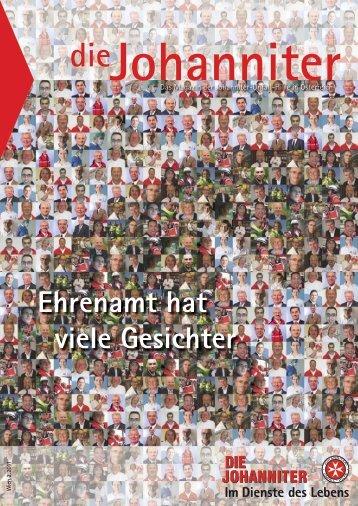 Ehrenamt hat viele Gesichter - Die Johanniter