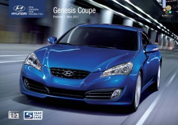 PDF Download - Preisliste Genesis Coupe - Hyundai