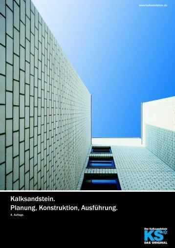Kalksandstein. Planung, Konstruktion, Ausführung