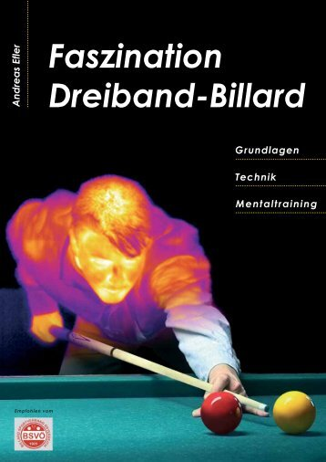 Faszination Dreiband-Billard - Lithoshop