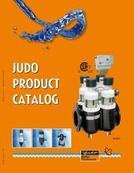 JUDO PRODUCT CATALOG