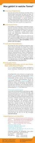 Abfallkalender 2010 - EGN Entsorgungsgesellschaft Niederrhein mbH - Page 5