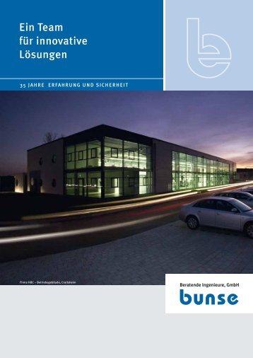 Es genügt eben nicht, dass Technik funktioniert - Bunse GmbH
