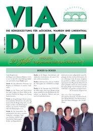 20 Jahre - Bürgerverein Möckern Wahren e. V.