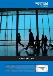 Comfort air - schützt den Menschen Anwendungen - Camfil Farr