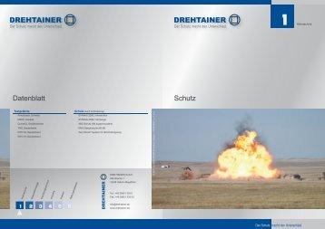 Schutz Datenblatt - Drehtainer GmbH