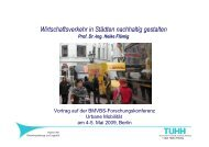 (Regeln, Werte) Unternehmen (Logistik) Planung - Mobilität 21