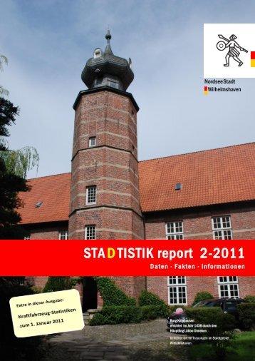 Sta(d)tistik-Report - Stadt Wilhelmshaven